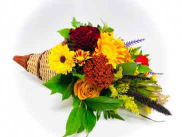 Cornucopia Harvest Fresh Arrangement