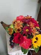 Cornucopia Tradition Fresh Arrangement