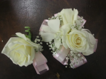 Corsage & Bout. Rose & Orchid