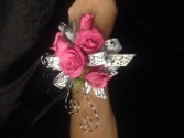 Pink spray rose Corsage  Corsage
