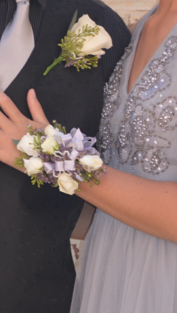 Classic Lilac Corsage
