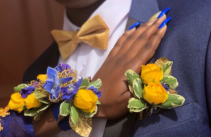 Colorful Statement Corsage