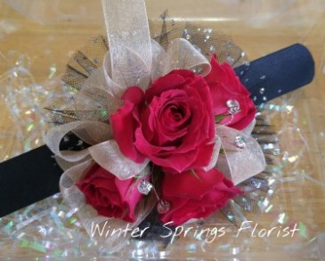 Prom and Homecoming Wrist Corsage   Sample