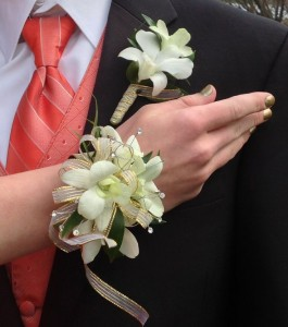 Corsage Set Prom Flowers: Orchid or Rose
