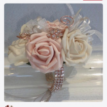 Corsage with Diamond