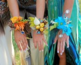 Corsage with style Wristle corsages