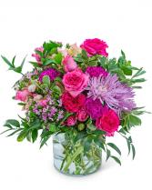 Cosmopolitan Jungle Flower Arrangement