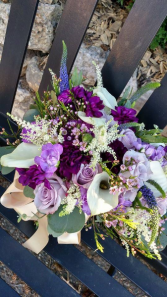 Cottage Garden bouquet Bridesmaids