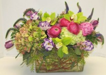 Cottage Garden Cut Flower Arrangement