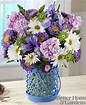 Cottage Garden vase in Claremont, NH | FLORAL DESIGNS BY LINDA PERRON