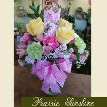 Cottage Garden Vase Birthday