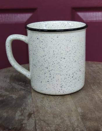 Cottage life stoneware mug Coffee mug