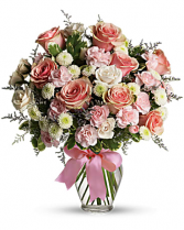 Cotton  Candy Bouquet of Flowers