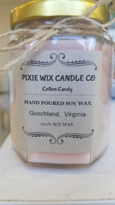 Cotton Candy Candle Candle