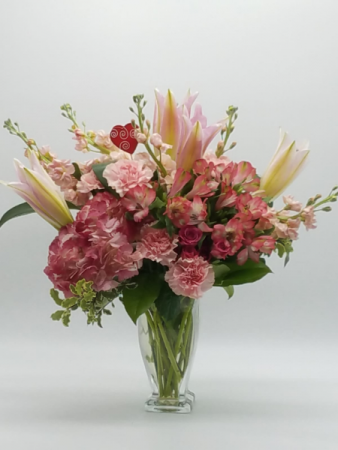 Cotton Candy Flower Arrangement