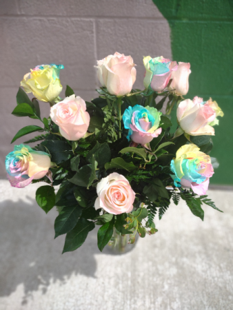 Cotton Candy Roses