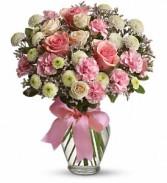 Cotton Candy Vase