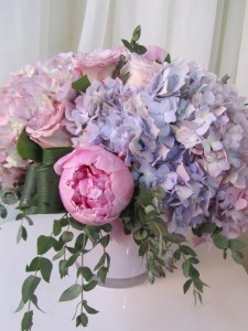 Cotton Candy Vase arrangement