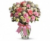 Cotton Candy Vase of  Beautifull Pinks & Whites