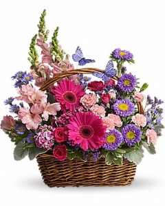 Country Basket  Fresh Arrangement