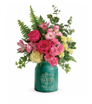 Country Beauty Bouquet  in Newton, MA | BUSY BEE FLORIST