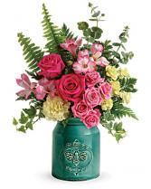 Country Beauty Bouquet Vase Arrangement
