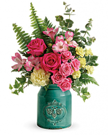 Country Beauty Bouquet Vase Arrangement