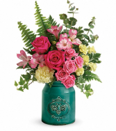 Country Beauty Keepsake container