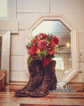 Country Blooms Bridesmaid