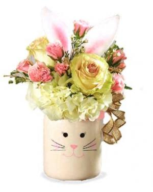 Country Bunny Floral Bouquet in Whitesboro, NY | KOWALSKI FLOWERS INC.