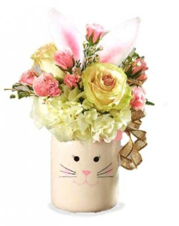 Country Bunny Floral Bouquet