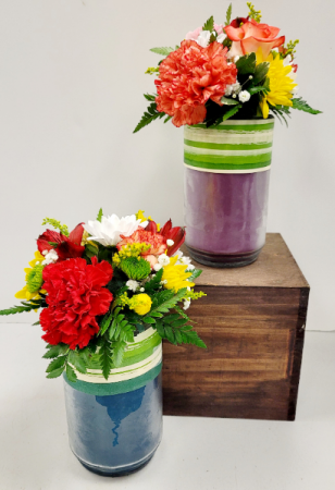 Country Candle Small Premium Candle Arrangement