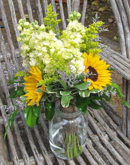 Country Charm Wedding Bouquet