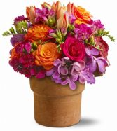 Country Chic Floral Arrangement