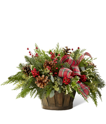 Country Christmas Basket