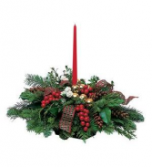 Country Christmas centerpiece Christmas