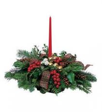 Country Christmas centerpiece Christmas