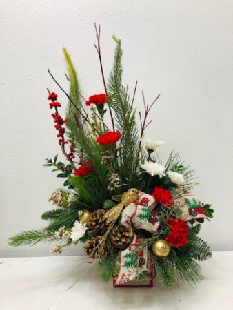 Country Christmas Christmas Arrangement