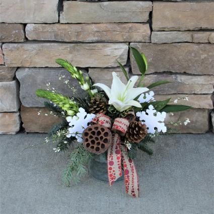 Country Christmas Christmas Flowers