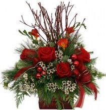 Country Christmas One Sided Arrangement