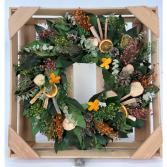 Country Citrus Wreath Dried Wreath