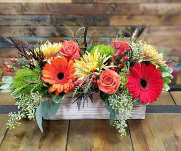 Country Crate Flowers for All Occasions