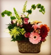 Country Delight Mixed Garden Flowers