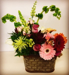 Country Delight Mixed Garden Flowers in Plainview, TX | Kan Del's Floral, Candles & Gifts