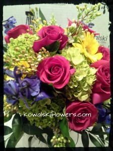 Country Garden Bridal Bouquet in Whitesboro, NY | KOWALSKI FLOWERS INC.
