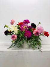 Garden Picked Flower Arrangement