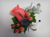 country groom grooms boutonnier