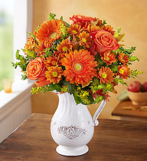 Country Harvest Pitcher  in Oakdale, NY | POSH FLORAL DESIGNS INC.