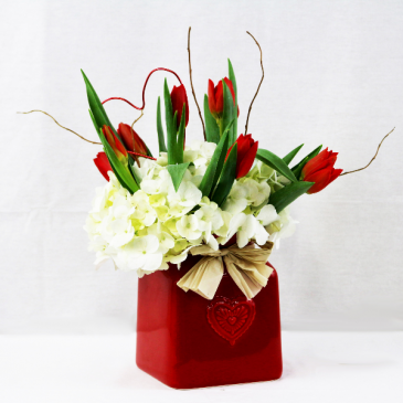 Country Kisses Bouquet Valentine's Day