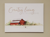 Country Living Canvas Giftware